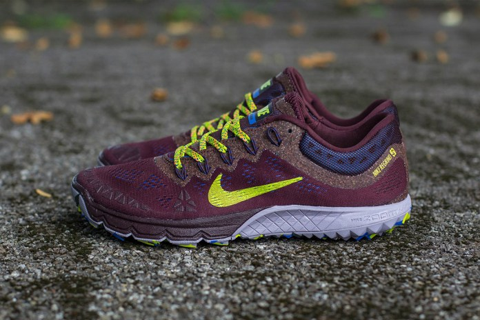 Nike Zoom Terra Kiger 2 Deep Burgundy/Fierce Green-Purple Steel