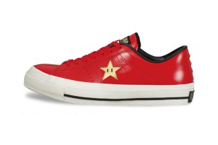 Nintendo Super Mario Bros. x Converse Japan One Star 40th Anniversary Pack