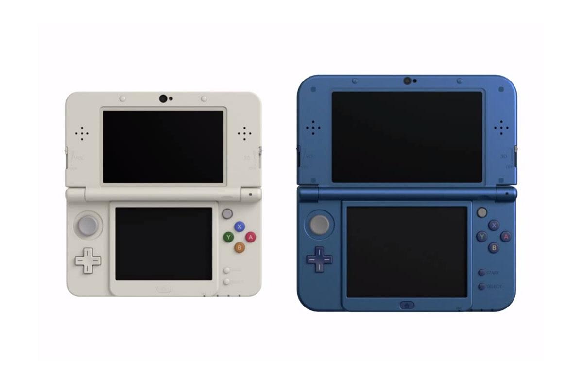 Nintendo Unveils Redesigned 3DS Consoles