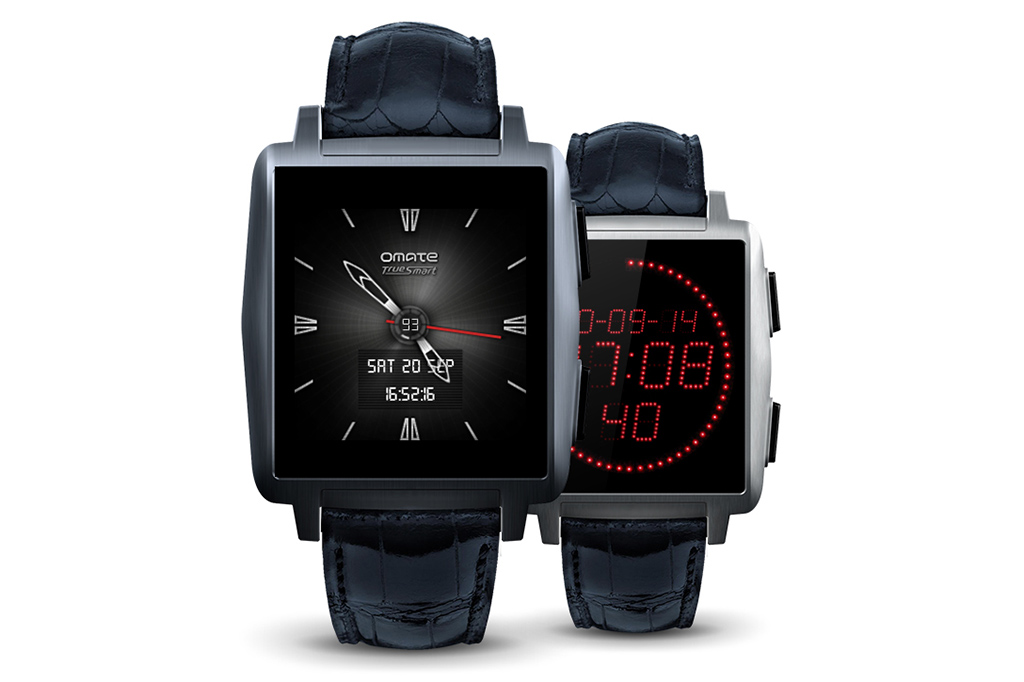 omate x the fashionable smartwatch