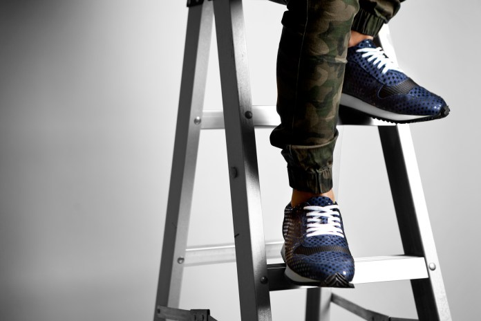 Opening Ceremony 2014 Fall/Winter Navy Arrow Sneakers