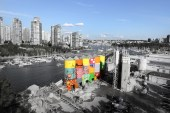 """Os Gemeos Paints """"Giants"""" On Vancouver Silos"""