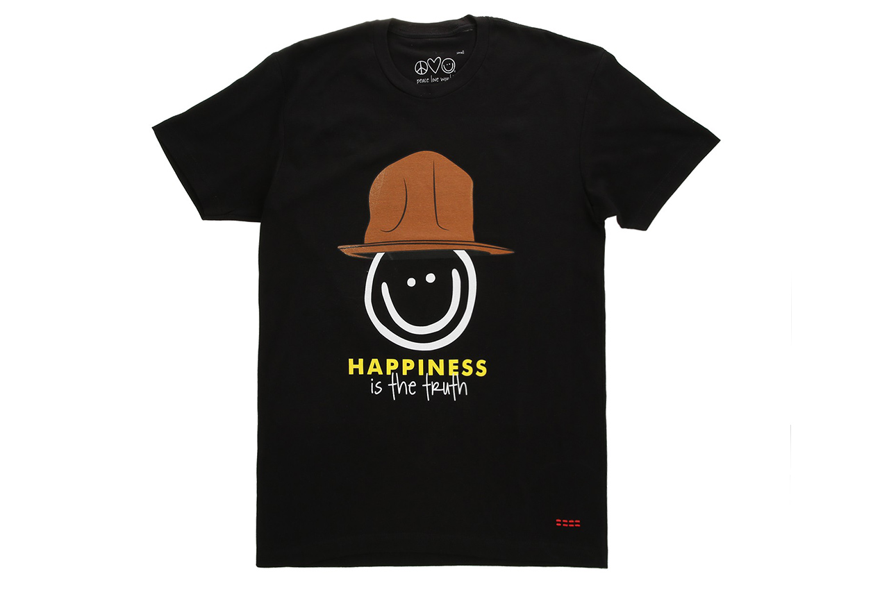Peace Love World x Pharrell Williams Capsule Collection