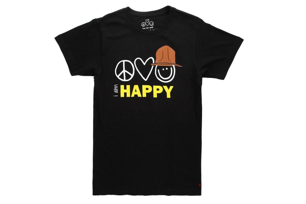 Peace Love World x Pharrell Williams Capsule Collection