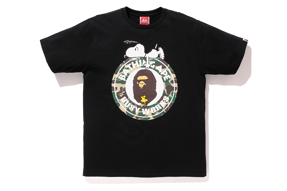 peanuts x a bathing ape 2014 fall winter collection
