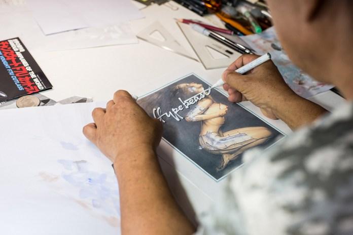 Pen & Paper: Hajime Sorayama (NSFW)