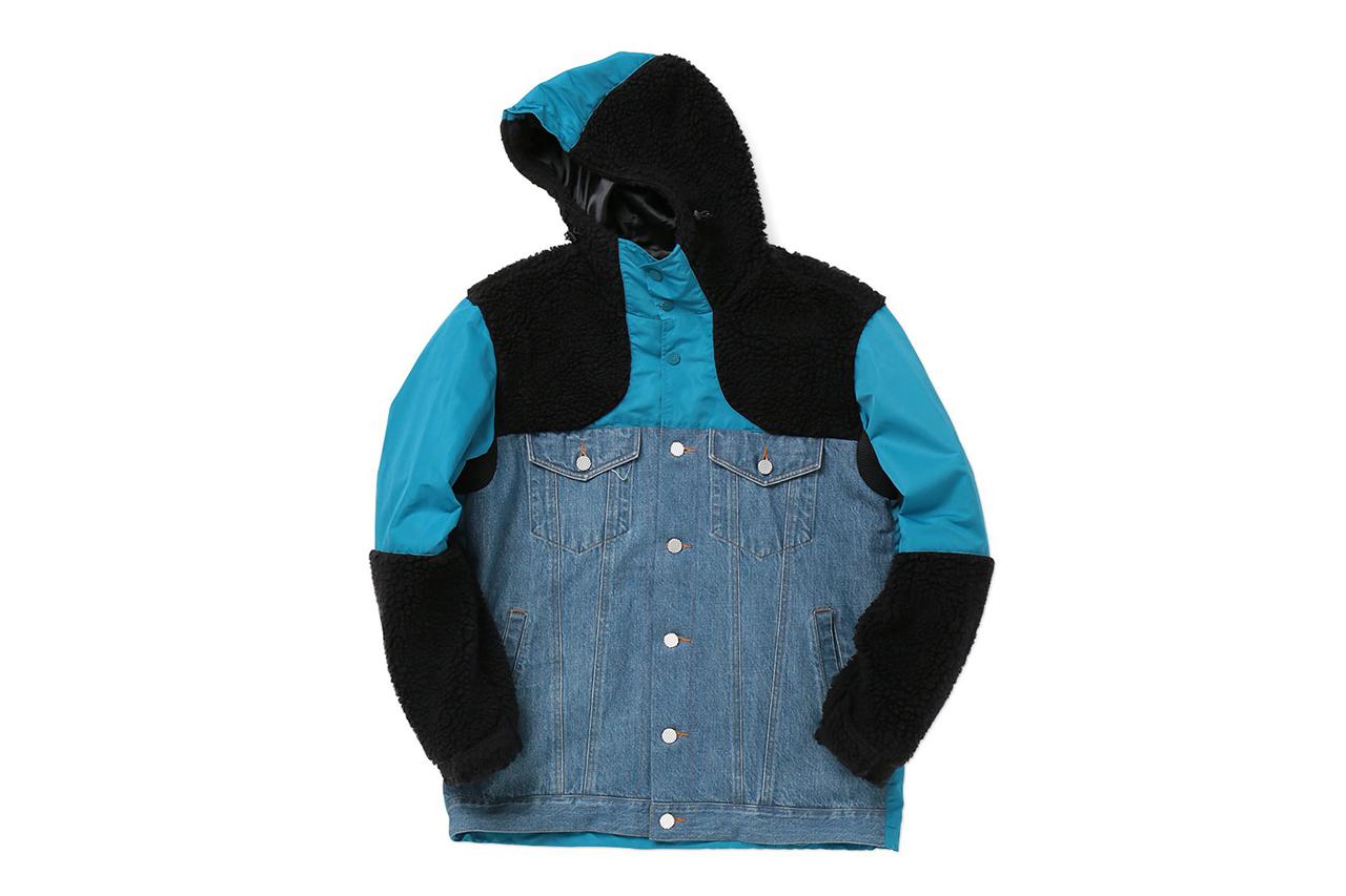 PHENOMENON 2014 Fall/Winter Mix Hood Jacket