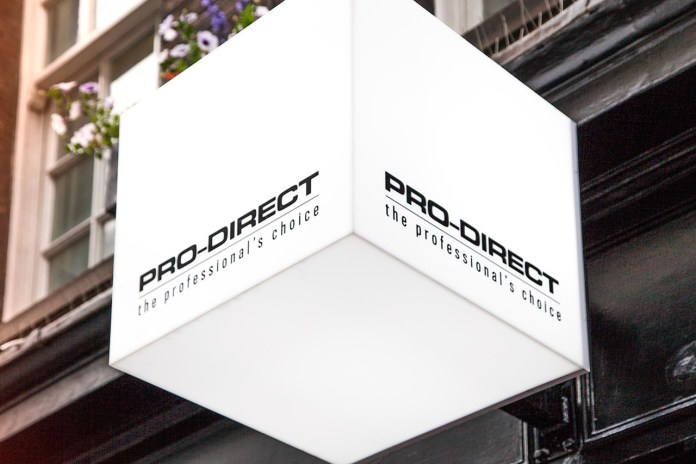 Pro-Direct Soccer LDN19 Launch Event