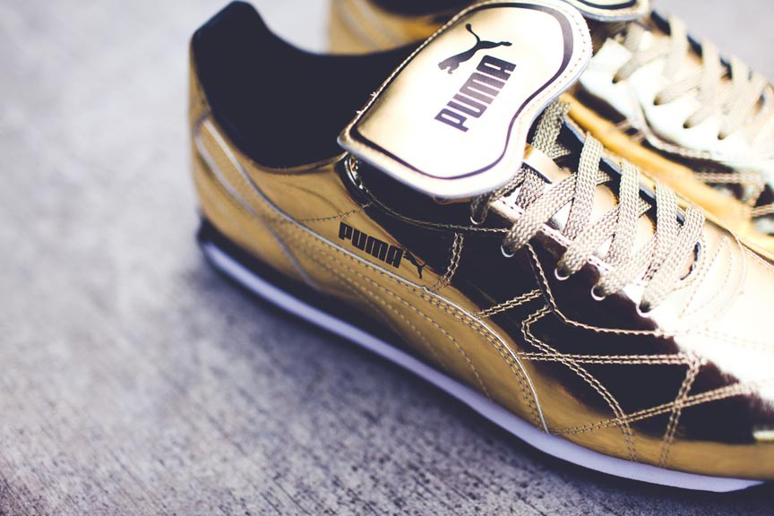 puma 2014 summer avanti gold black