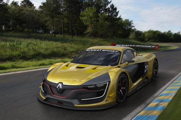Renault Sport R.S. 01 Race Car