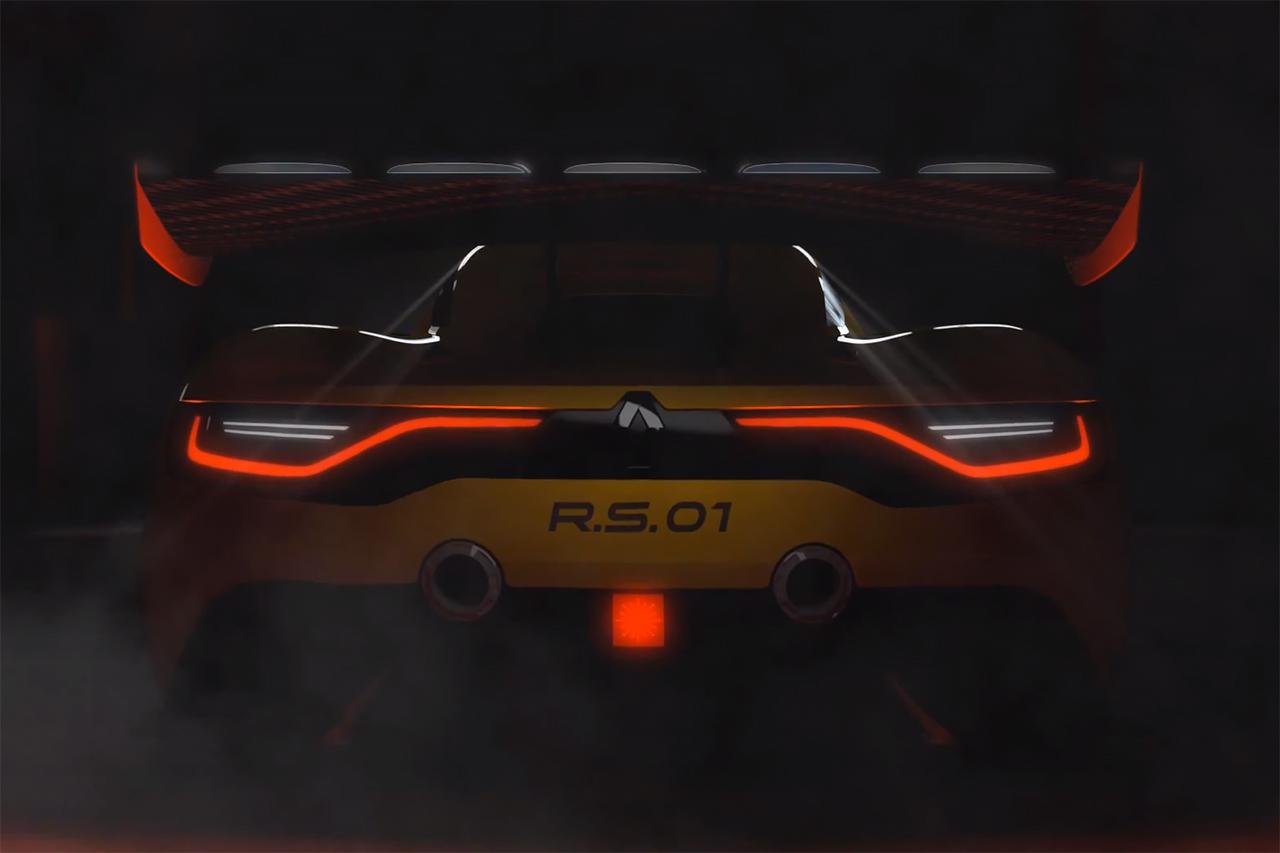 Renault Sport R.S. 01 Teaser
