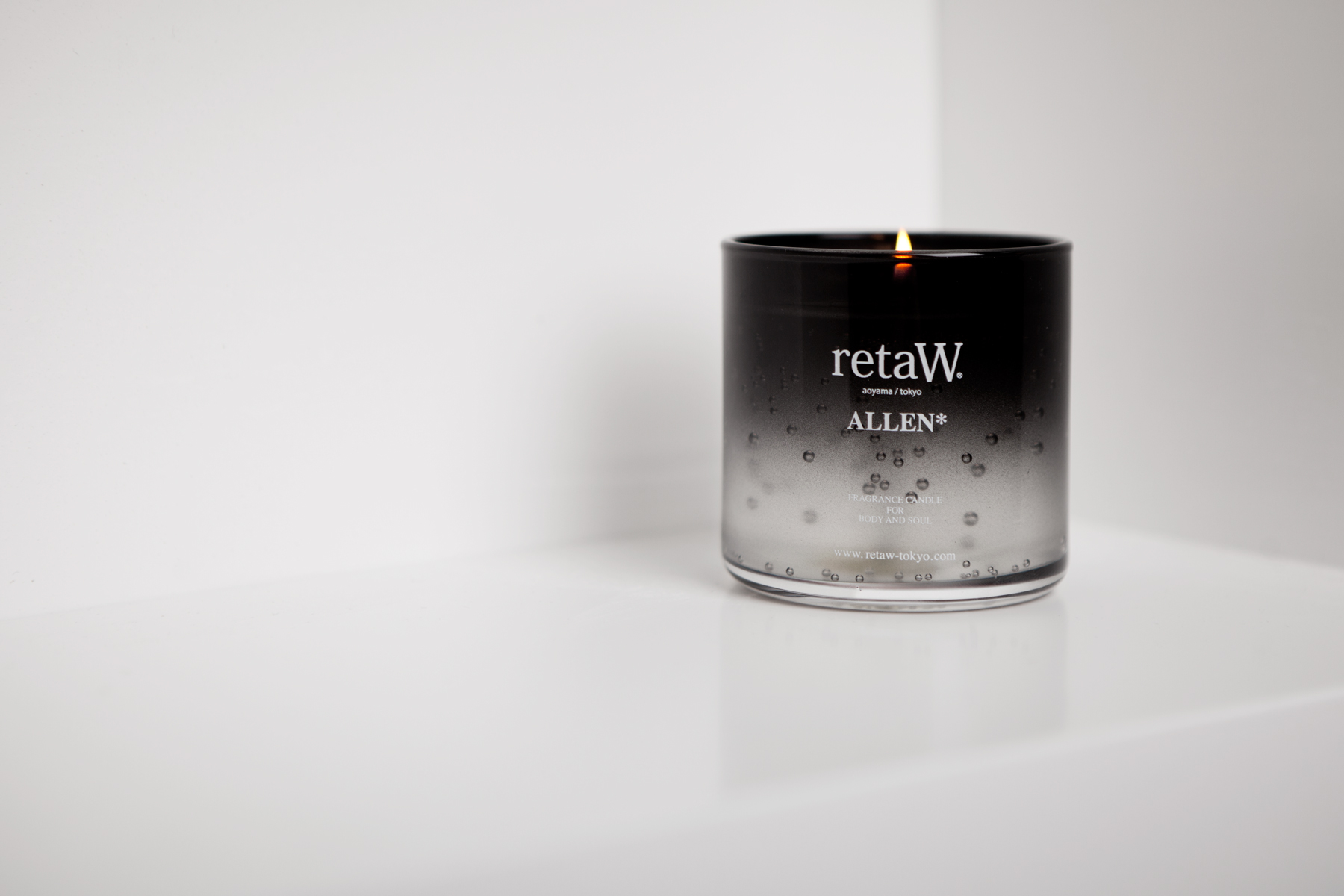 retaW Fragrance Gel Candles Collection