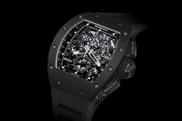 "Richard Mille RM 011 Automatic Flyback Chronograph ""Black Phantom"""