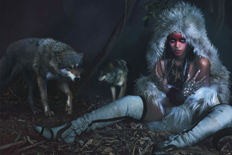 Rihanna by Mert & Marcus for W Magazine