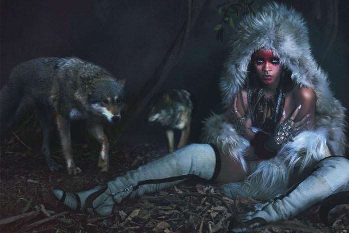 Rihanna by Mert & Marcus for W Magazine
