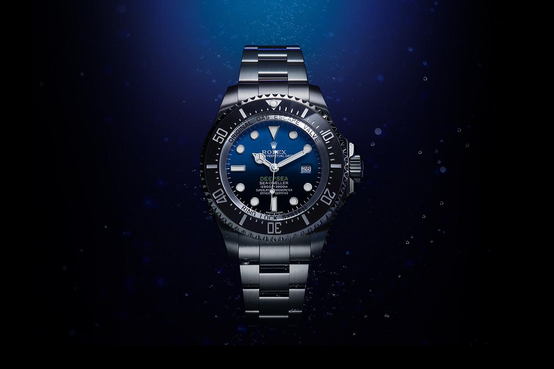 rolex deepsea d blue dial
