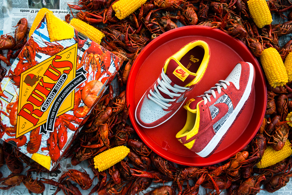 "Rukus x Nike SB Dunk Low QS ""Crawfish"""