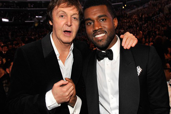 Rumors Surface of Kanye West and Paul McCartney Working Together