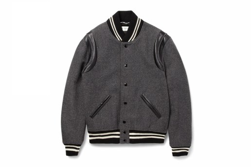 Saint Laurent 2014 Fall/Winter Varsity Jacket