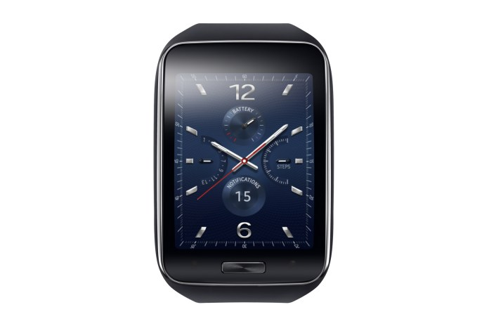 Samsung Unveils the Gear S