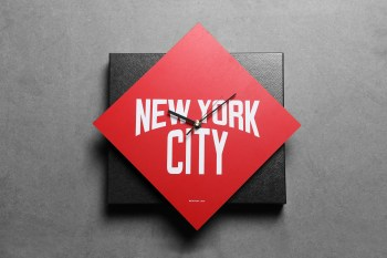 SECOND LAB New York City Clock Collection