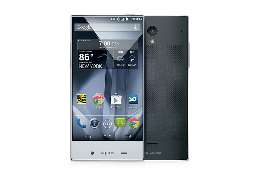 Sharp AQUOS Crystal Smartphone