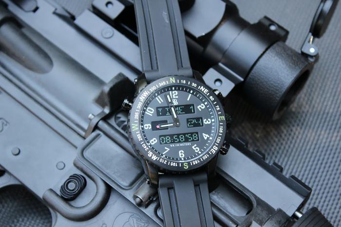 Smith & Bradley Ambush Digital Analog Watch