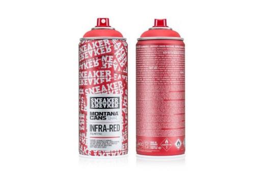 """Sneaker Freaker x Montana """"Infra-Red"""" Spray Can"""
