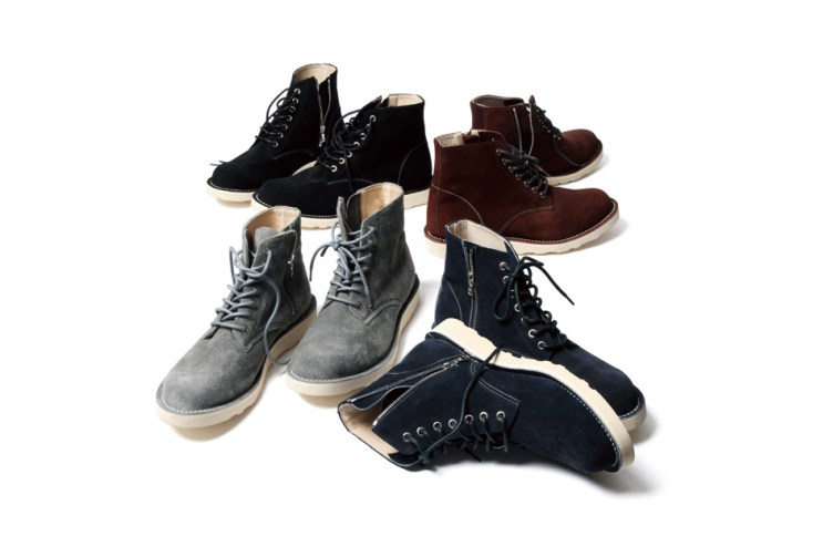 SOPHNET. 2014 Fall 7 Hole Zip Up Boots Collection