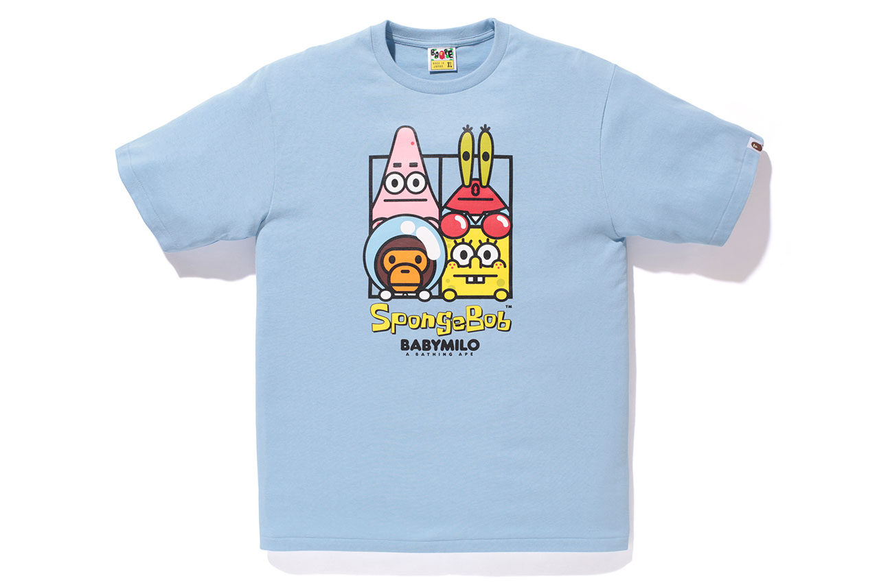 SpongeBob SquarePants x A Bathing Ape 2014 Capsule Collection