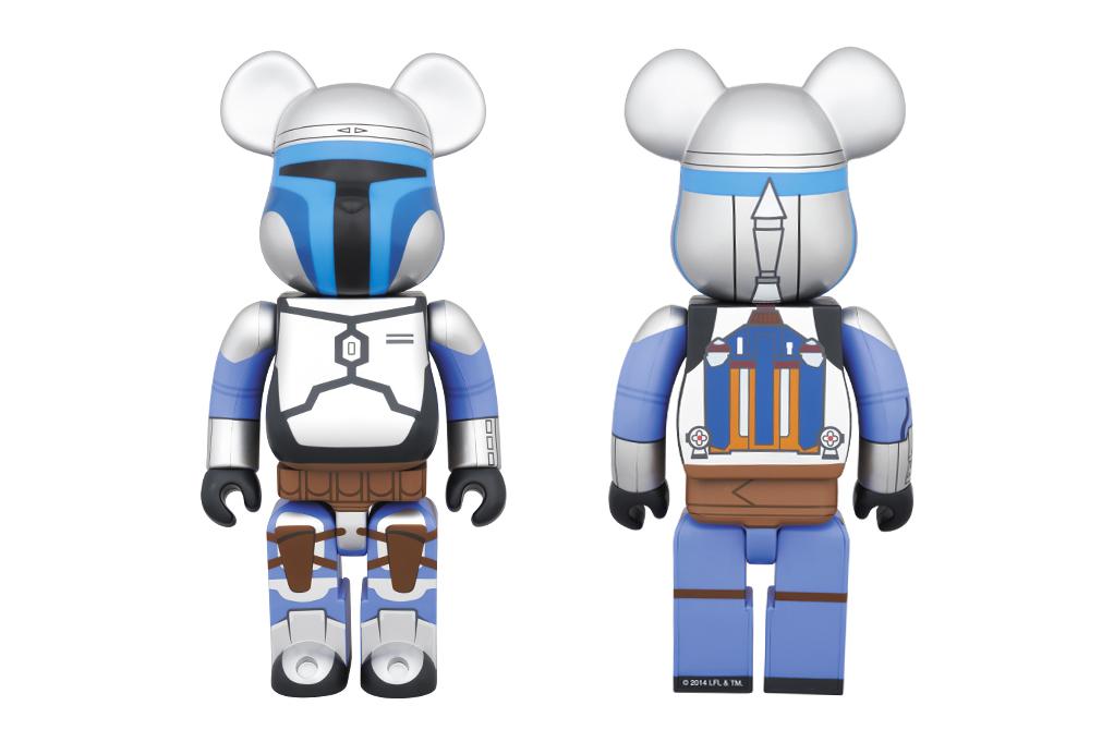 star wars x medicom toy bearbrick 400 legendary bounty hunter bearbrick
