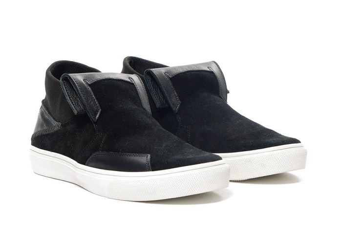Stone Island Shadow Project STEP-ON SLIP-ON_SUEDE / LEATHER Sneaker