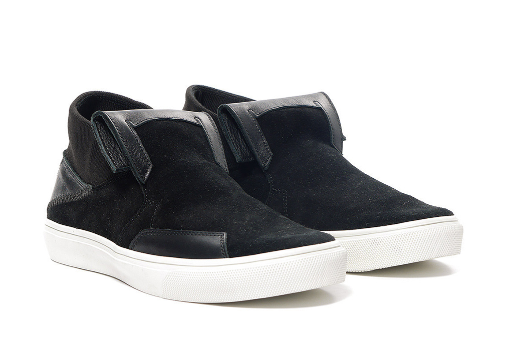 stone island shadow project step on slip on_suede leather sneaker