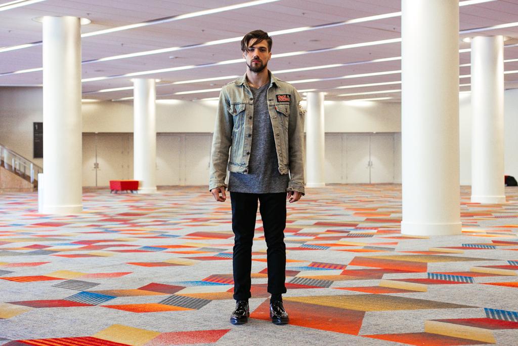 Streetsnaps: Chris Love at Agenda Las Vegas