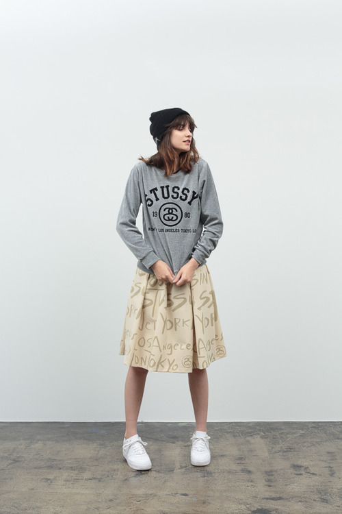 stussy women 2014 fall winter collection