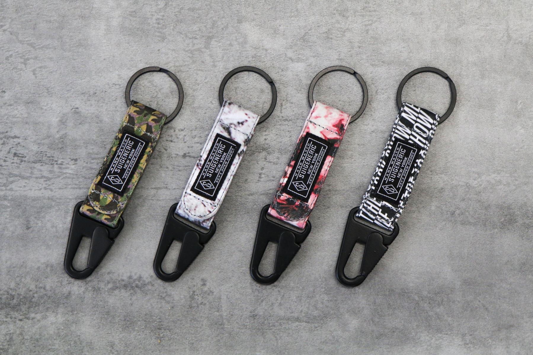 Suigeneric 2014 Hand-Waxed Keychains