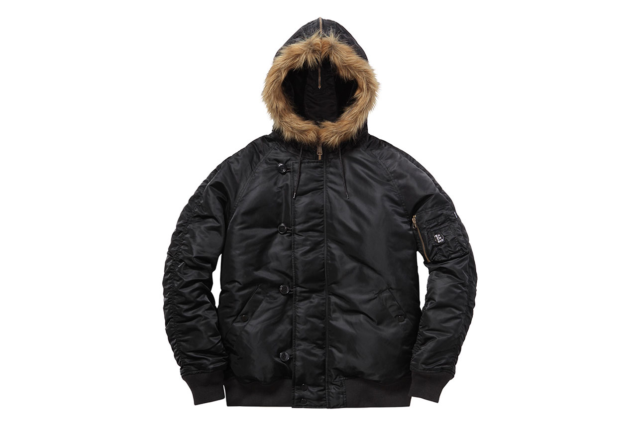 Supreme 2014 Fall/Winter Outerwear Collection