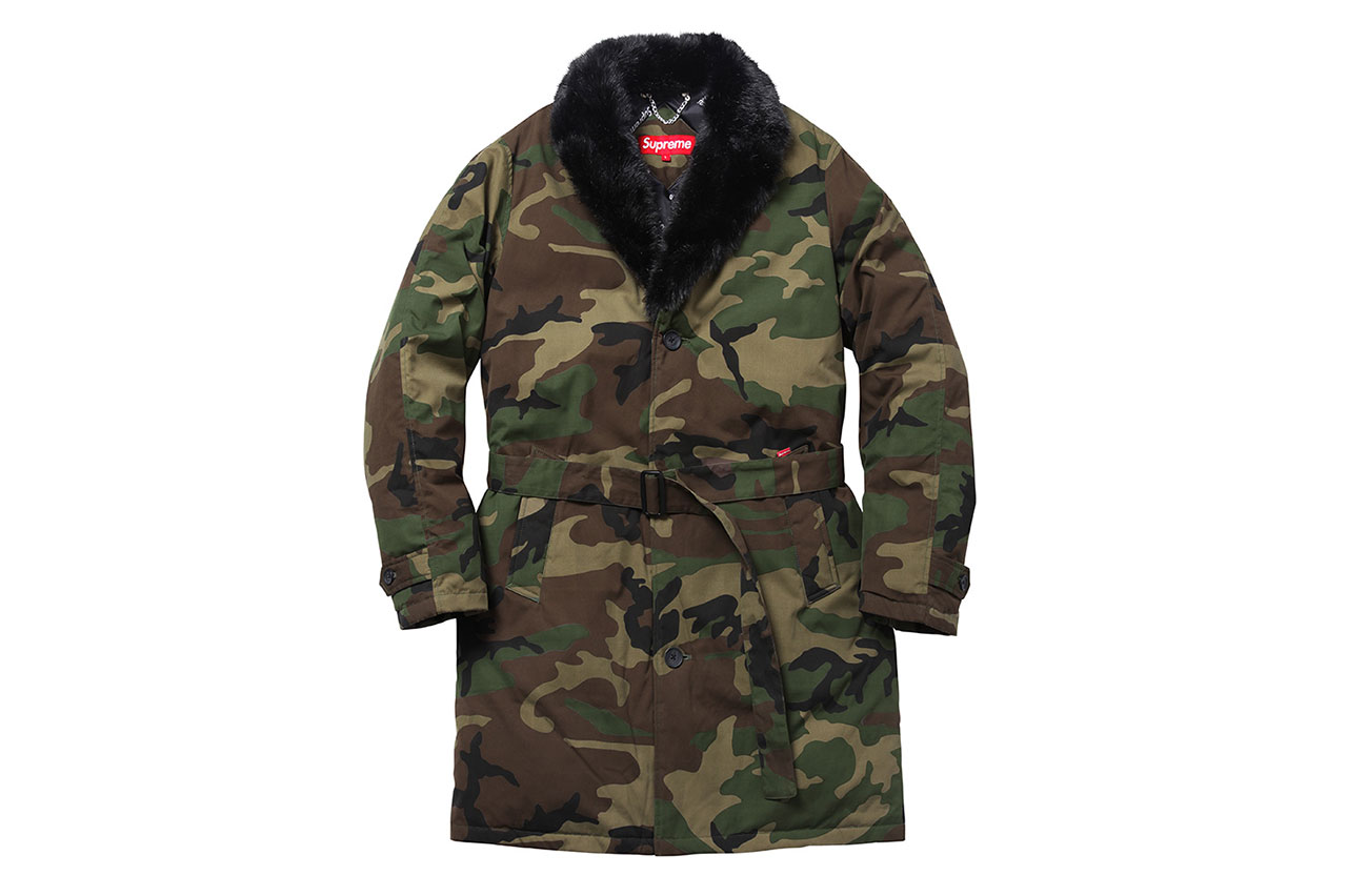 supreme 2014 fall winter outerwear collection