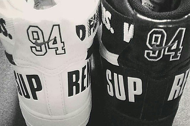 supreme x nike 2014 fall winter air force 1 preview