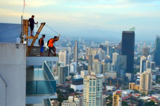 The World's Biggest Urban Zip-Line