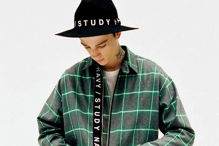 "thisisneverthat 2014 Fall/Winter ""NAVY/STUDY"" Lookbook"