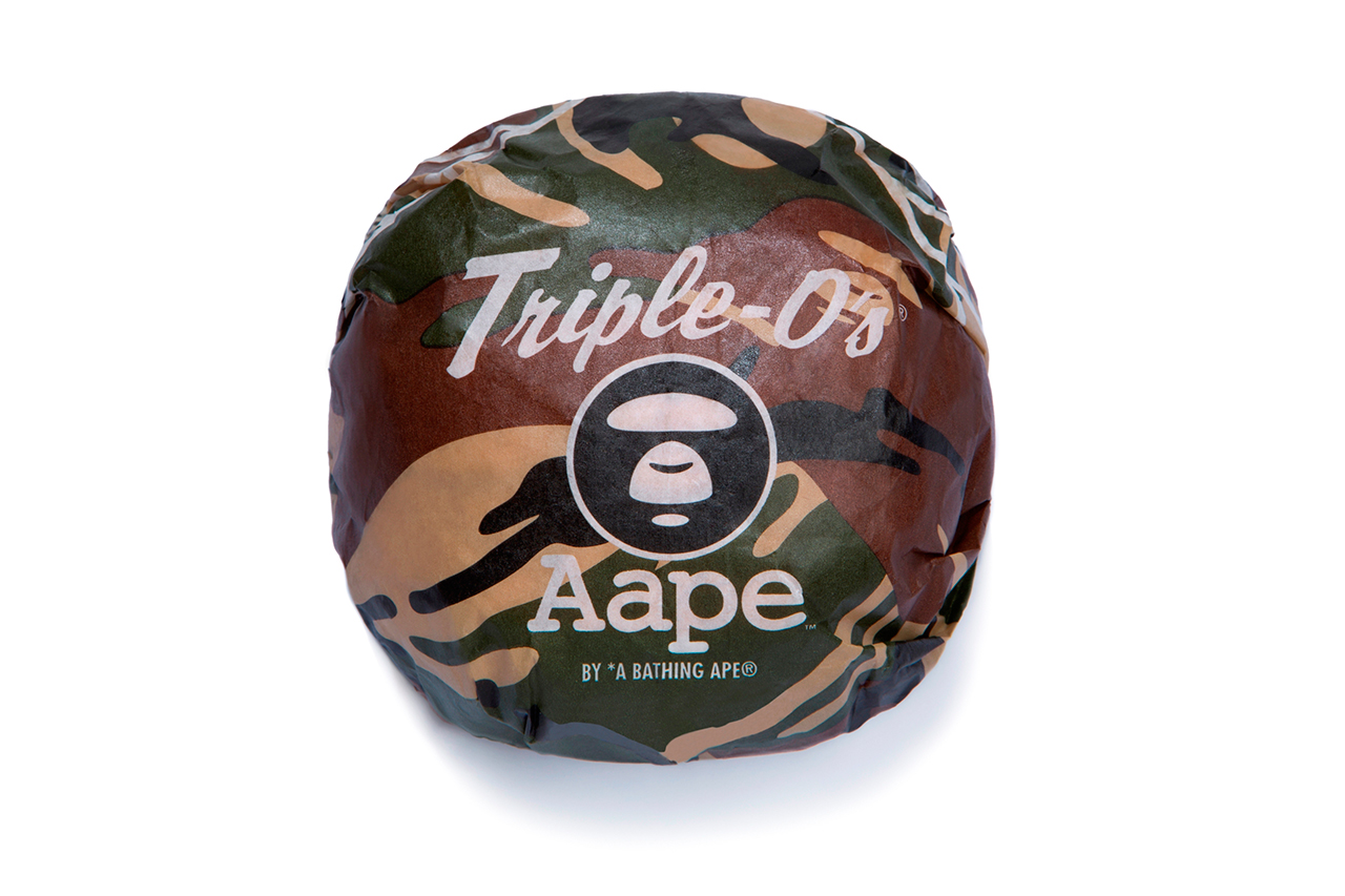 triple os restaurant to collaborate with aape by a bathing ape