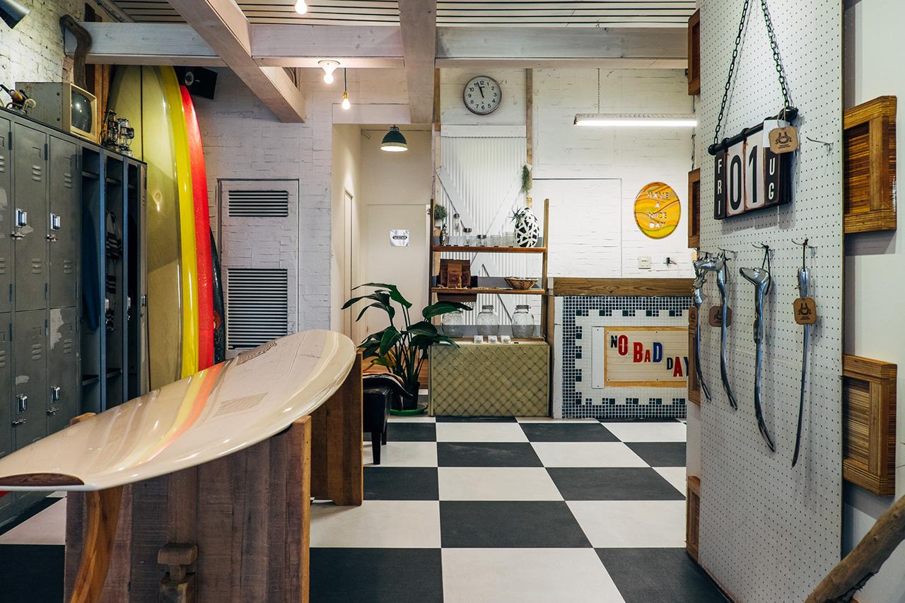 upstairs genuine shop opening
