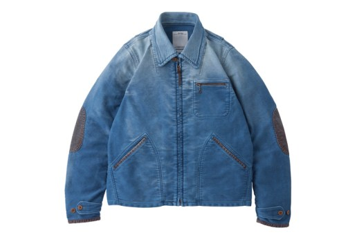 visvim 2014 Fall/Winter BLACKHAWK BLOUSON (DMGD MOLESKIN)
