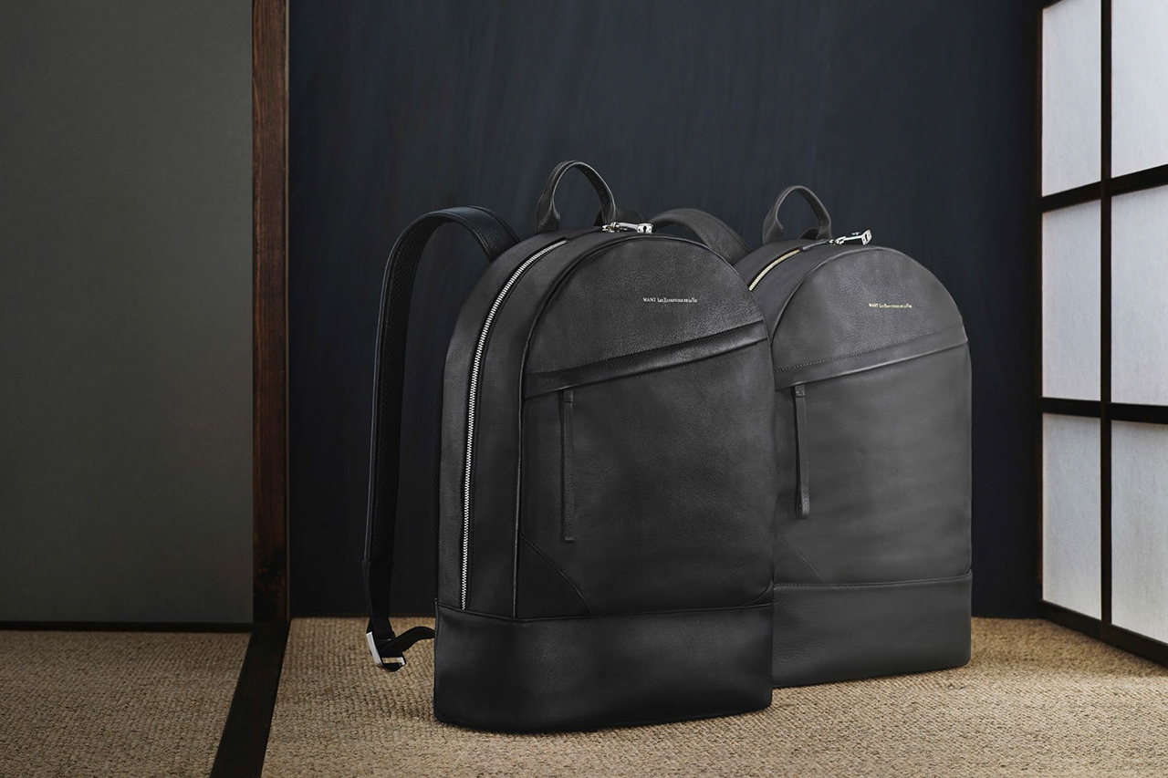 WANT Les Essentiels de la Vie 2014 Fall/Winter Luggage Collection