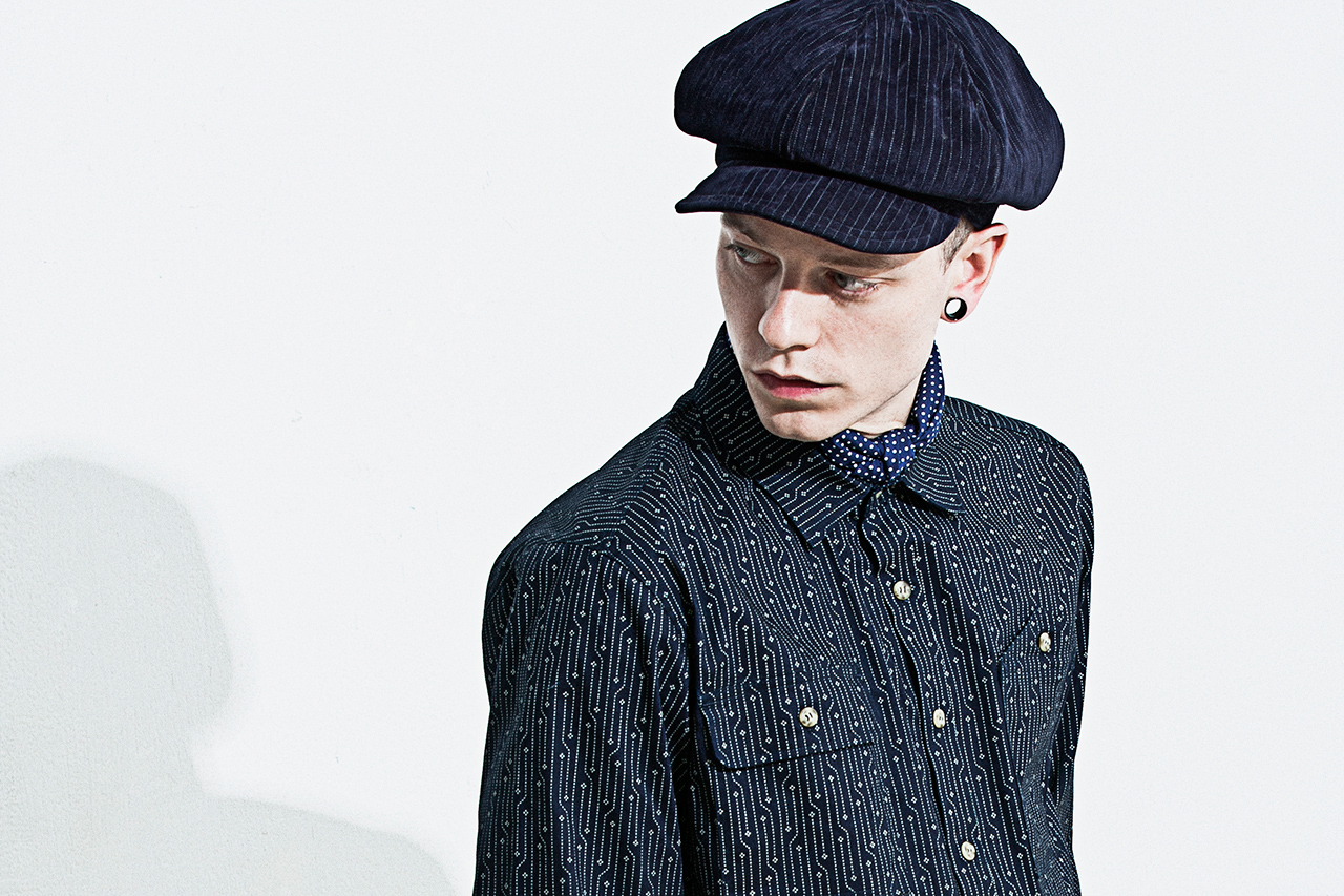 "wisdom 2014 Fall/Winter ""EIGHT THOUSAND FEET"" Lookbook"