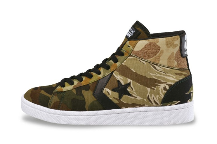 "XLARGE x Converse Japan 2014 Fall ""Multicamo"" Pack"