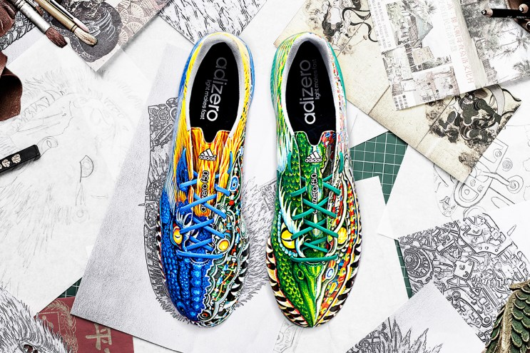 Yohji Yamamoto x adidas 2014 adizero f50