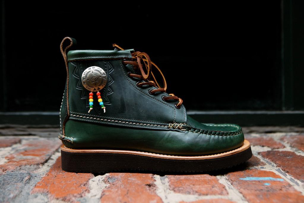 "Yuketen 2014 Fall/Winter Native Maine Guide Boot ""Loden Green"""