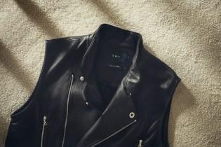 3•W•Y 2014 Black T-5 Moto Vest